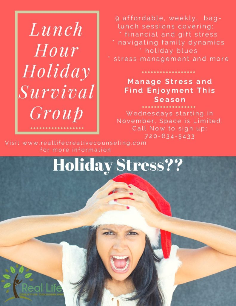 Holiday Stress Flyer